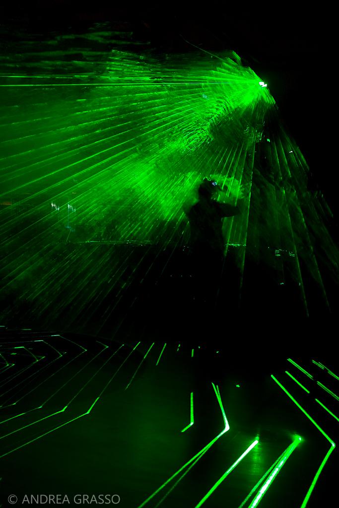 Luce verde