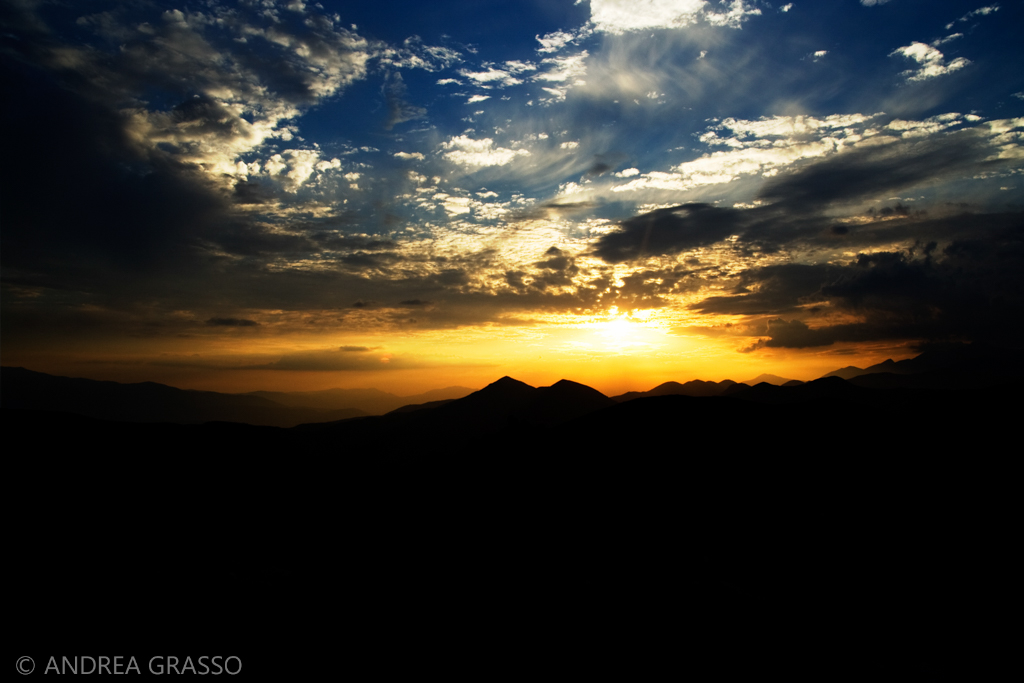 Un banale tramonto